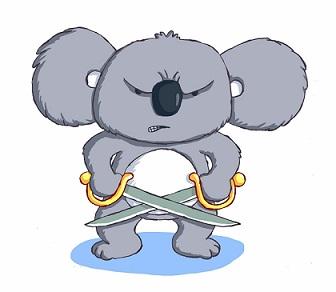 Keith the Combat Koala_Ian Smith