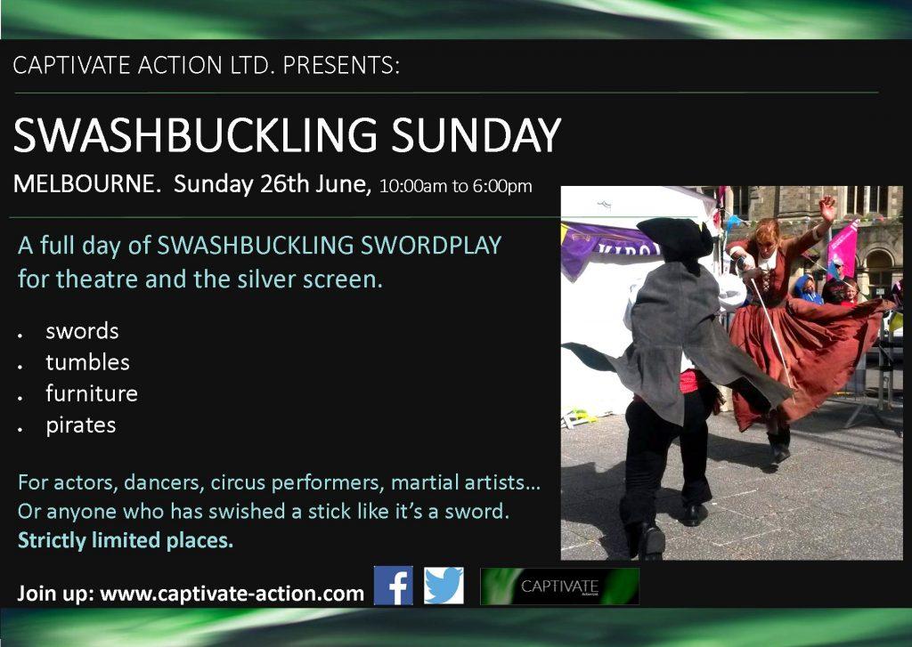Swashbuckling Sunday